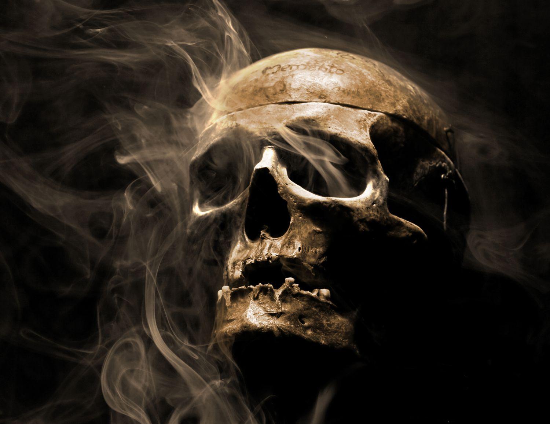 Poster Fototapete selbstklebend Gothic Totenkopf | eBay