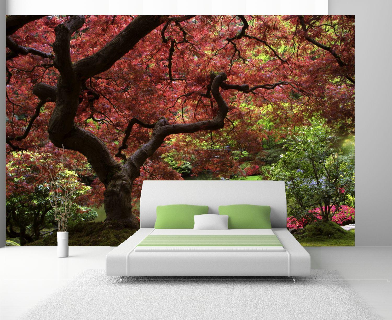 poster fototapete selbstklebend natur japanischer garten 2 ebay. Black Bedroom Furniture Sets. Home Design Ideas
