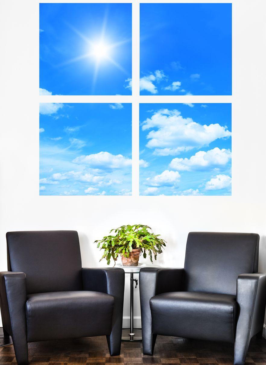 poster fototapete selbstklebend mehrteilig natur himmel ebay. Black Bedroom Furniture Sets. Home Design Ideas
