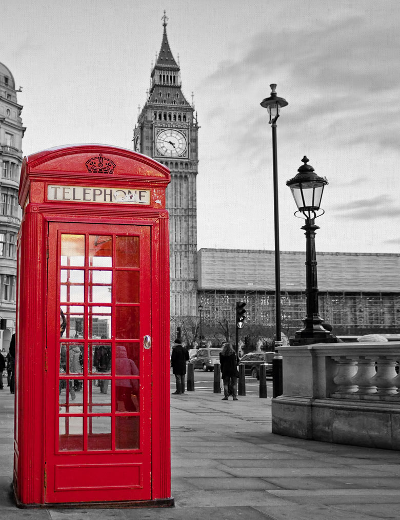 poster fototapete selbstklebend london big ben telephone ebay. Black Bedroom Furniture Sets. Home Design Ideas